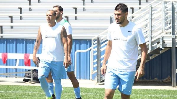 Alejandro Aguilar milita en el fútbol de Estados Unidos.