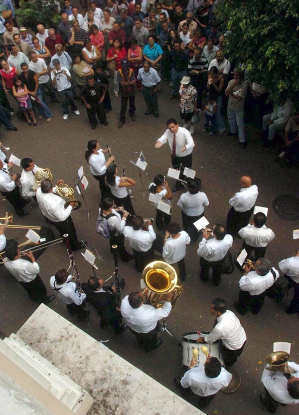 Viaje. A fin de mes, los músicos josefinos se van a Colombia. Mario Rojas