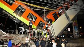Peritaje atribuye a 'falla estructural' accidente en metro de Ciudad de México
