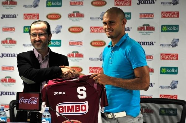 El pasado viernes 20 de diciembre, el Deportivo Saprissa anunció de forma oficial el regreso de Heiner Mora al club tibaseño. | RAFAEL MURILLO