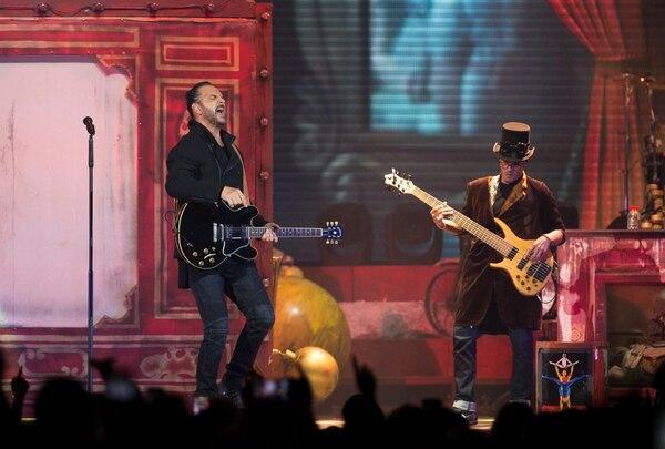 Una imagen del concierto que se presentará este viernes y sábado en el estadio Ricardo Saprissa, en Tibás. Cortesia de Ricardo Arjona RICARDO ARJONA CIRCO SOLEDAD LA GIRA