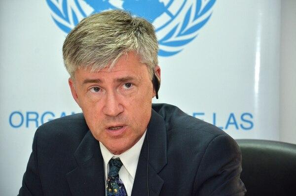 John Knox dará un informe detallado de su misión ante el Consejo de Derechos Humanos de Naciones Unidas en el 2014. | MARIANDREA GARCÍA PARA LN
