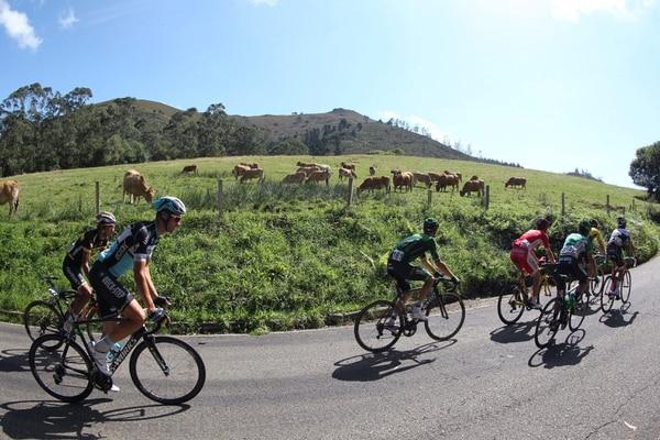 Ellos son los fugados del día en la Vuelta a España.