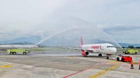 Avianca y Frontier inauguran rutas directas entre San José-Miami y San José-Orlando