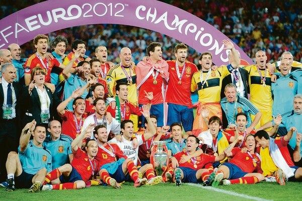 España fue la ganadora de la Eurocopa 2012.