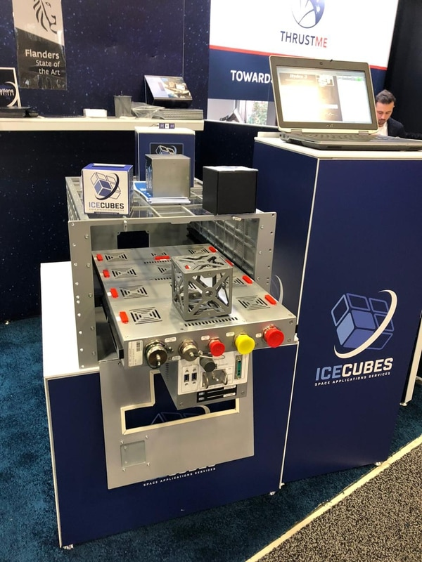 El experimento se desarrollaría por medio del servicio ICE Cubes (International Commercial Experiments), instalado en la Estación Espacial Internacional, en el módulo Columbus. Foto: Cortesía MUSA