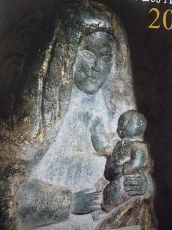 Un acercamiento de la imagen de piedra caracteriza el programa de este año.