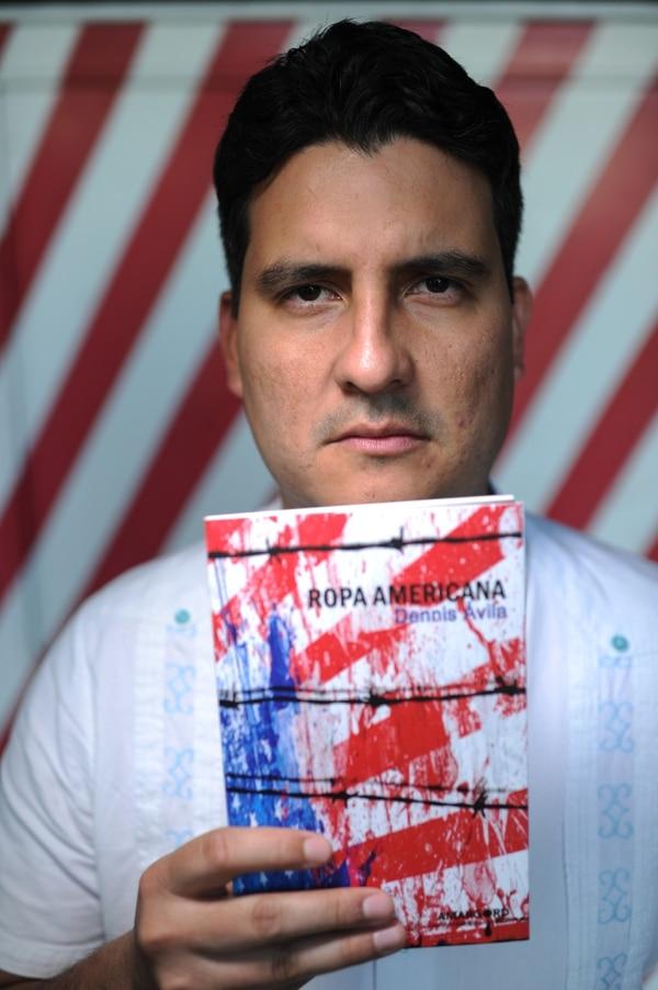 Dennis Ávila nació en Tegucigalpa. Fotografía: Jorge Navarro