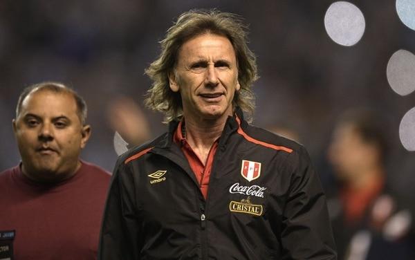 Ricardo Gareca, el técnico que hizo historia con la Selección de Perú. Fotografía: AFP