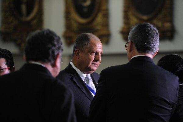 El Presidente Luis Guillermo Solís asegura que la inversión de su Gobierno en el deporte es la mayor que se ha dado.
