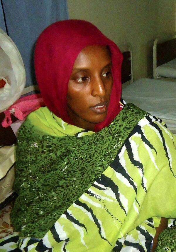 Mariam Ibrahim Ishaq, dos semanas después de su condena.   EFE