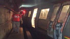 Descarrilamiento en metro de Caracas deja ocho heridos