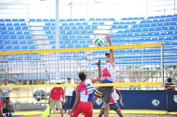 Sebastián Valenciano durante los Juegos Centroamericanos Managua 2017, al que asistió por una lesión de Bryan Monge. Foto: Juan Diego Villarreal