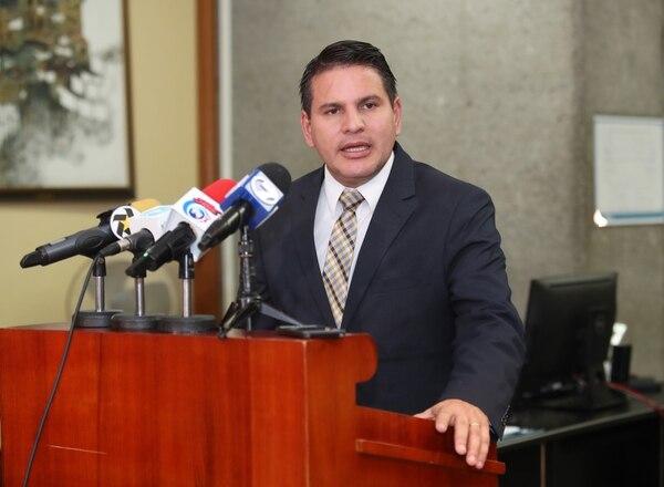 El excandidato presidencial de Restauración Nacional, Fabricio Alvarado. Foto: John Durán