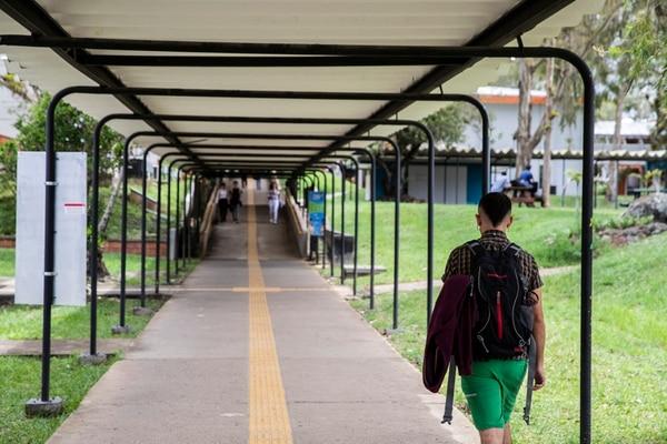Instalaciones del campus universitario del TEC en mayo del 2019 en Cartago. Fotografía: Alejandro Gamboa Madrigal