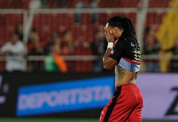 Jonathan McDonald se lamentó por la cantidad de goles perdidos por su equipo ante los belemitas.