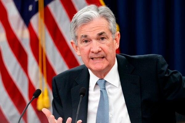 La FED, dirigida por Jerome Powell, elevó las tasas de interés por el incremento del empleo y el ritmo sólido de aumento de la economía estadounidense. Foto: AP.