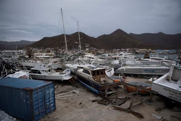 Daños provocados por Irma en San Martín.