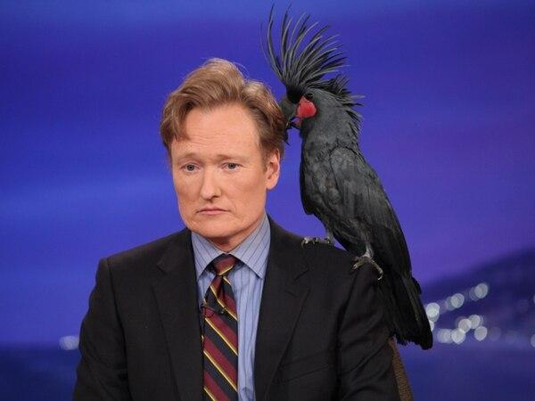 Conan O'Brien está trabajando en una nueva serie sobre extraterrestres.