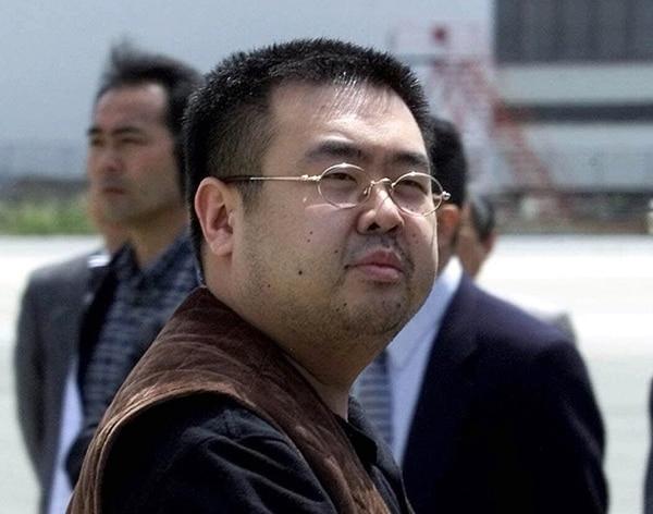 Kim Jong Nam cuando se aprestaba a tomar un vuelo hacia Pekín desde el aeropuerto internacional de Narita, Japón, en mayo del 2001.