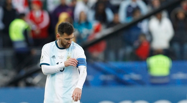 Lionel Messi fue el capitán de Argentina en la Copa América 2019. (AP Photo/Victor R. Caivano)