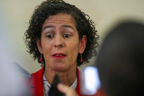 Nancy Marín renunció al Ministerio de Comunicación el 28 de mayo. Fotografía: José Cordero