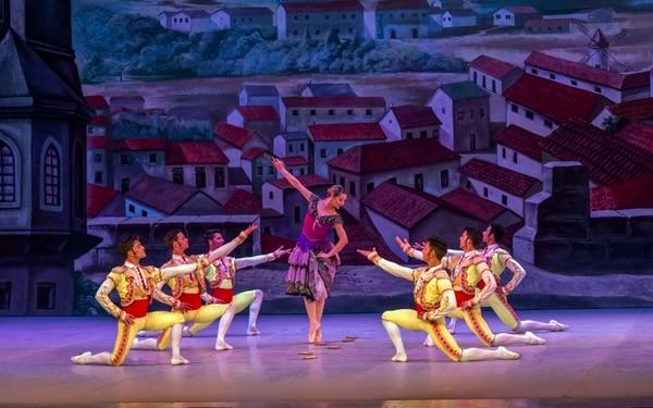 El Ballet Nacional de Cuba interpretará la suite de Don Quijote . Viengsay Valdés interpretará el rol principal el sábado. Foto: Cortesía de Interamericana Producciones.