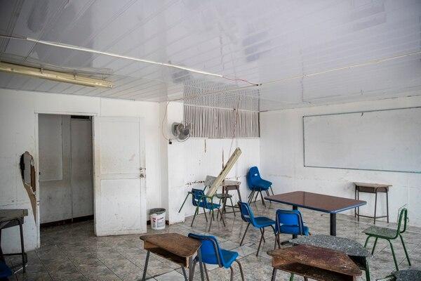 Aulas de del Colegio Deportivo de Limón- Fotografía: Alejandro Gamboa Madrigal