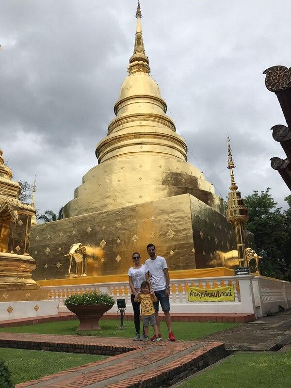 La familia Ruiz ha vivido durante un año en Tailandia y ha vivido grandes experiencias.