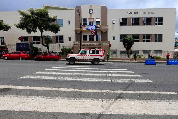 El fallecimiento de la mujer fue este sábado en el Hospital San Juan de Dios donde ingresó este viernes. Foto: Rafael Pacheco