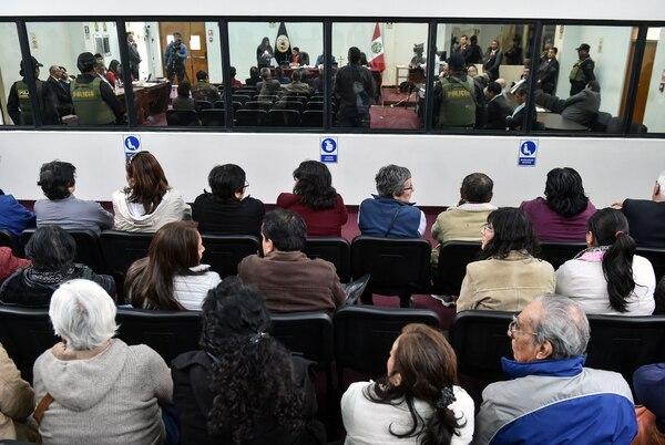 Público siguió este martes 11 de setiembre del 2018 la jornada final del juicio, en Lima, contra Abimael Guzmán, líder de endero Luminoso.