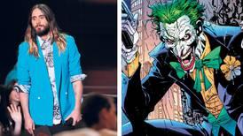 El 'Escuadrón Suicida' reclutó a Jared Leto como el Guasón y a Will Smith como Deadshot