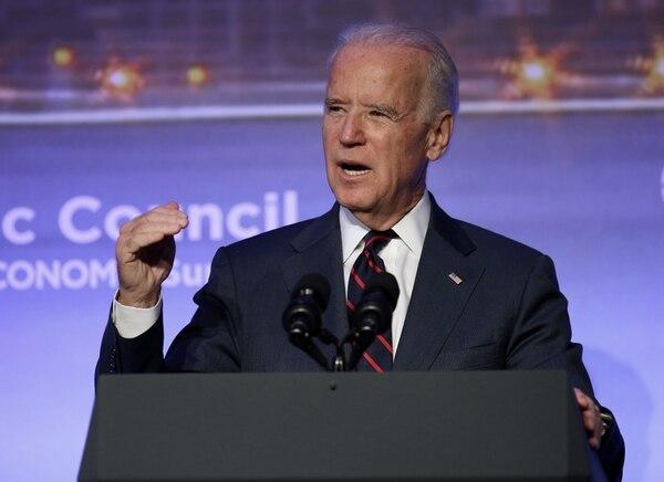 Joe Biden es el vicepresidente de los Estados Unidos.
