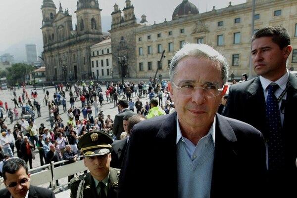 El expresidente de Colombia Álvaro Uribe es elegido senador. | EFE.
