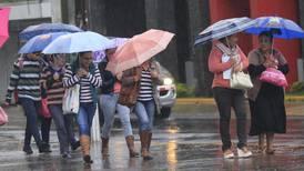 Meteorológico prevé mañanas lluviosas y tardes secas en el Valle Central