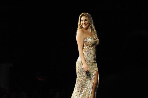 Ingrid Solís se covirtió en Mrs Universe 2018. Fotos Melissa Fernández