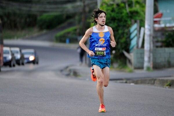 Daniel Johanning ingresó solo a meta. Rafael Murillo