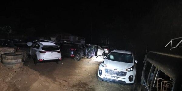 os carros robados son nuevos y cada uno de ellos tiene un precio de aproximadamente $31.000 (¢18.7 millones) cada uno. Foto de Wilbert Hernández