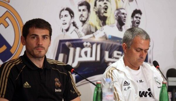 Iker Casillas y José Mourinho tuvieron una relación tensa cuando estaban en el Real Madrid.