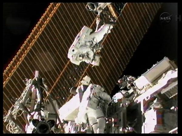 Los científicos a cargo fueron Sunita Williams y Akihiko Hoshide. | NASA