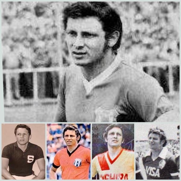 Wálter Elizondo fue el primer jugador en vestir las camisetas de los cuatro equipos grandes de nuestro país. Además fue campeón con Saprissa, Alajuelense, Herediano y subcampeón con Cartaginés. Fotografía: Cortesía