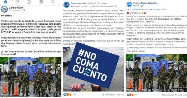 La publicación de la página llamada Guana/Noticias ya se ha compartido 649 veces. Fuente: Reproducción.