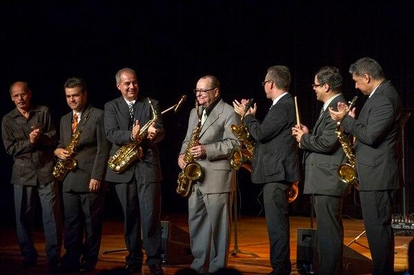 En mayo del 2015, el grupo Son Sax le rindió homenaje a Otto Vargas. Esa fue su primera presentación en el Teatro Nacional. LUIS NAVARO