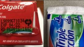 Salud en alerta por venta de pasta dental falsificada y con 'ingrediente perjudicial'