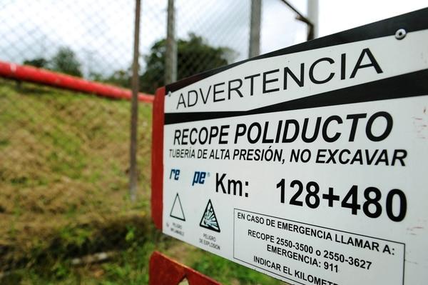El robo de combustible habría ocurrido en plantel de Recope, en el Coyol de Alajuela. Fotos Melissa Fernández