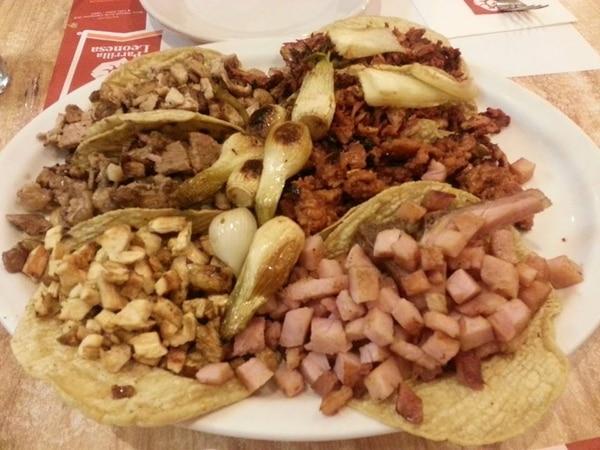 El sabor de los tacos en México es incomparable. Fotografía: Jairo Villegas S.
