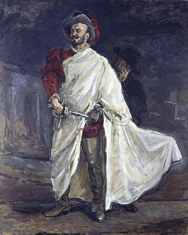 El cantante Francisco D'Andrade en el papel de Don Giovanni. Imagen: Maks Slefogt/ Wikimedia Commons.