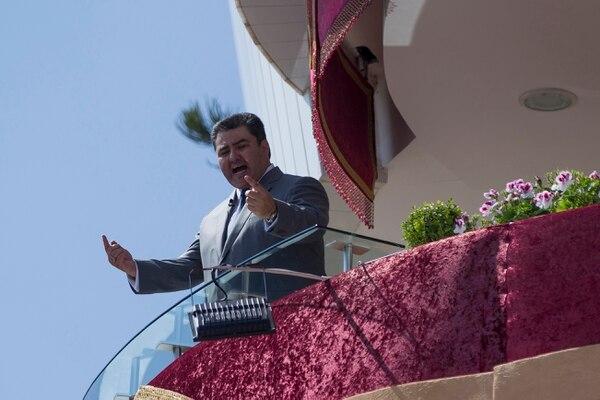 Naasón González es el actual líder de la iglesia Luz del Mundo. En este momento está preso en Estados Unidos, acusado de cometer delitos sexuales contra menores. AFP
