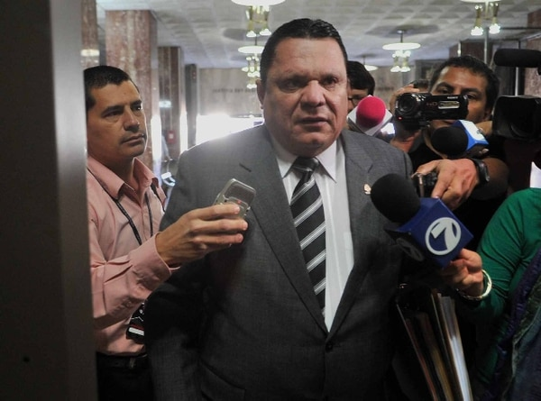 Jorge Angulo acudió en marzo a una audiencia en la Sala III. | ARCHIVO