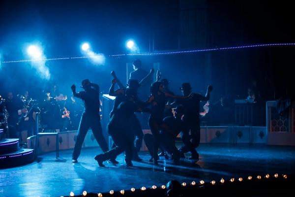 13/5/2017. San José. Presentación de la obra Chicago que se realizó en el teatro Melico Salazar en el 2017. Foto Adrián Soto.
